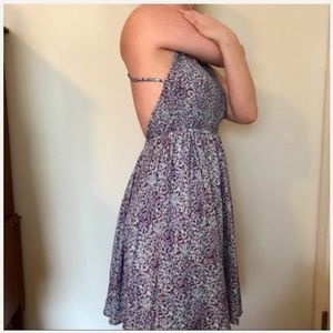 Urban Outfitters Kimchi Blue Backless Sundress